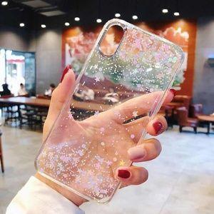 Accessories - NEW iPhone 11/Pro/Max/XR/8/Plus Glitter Star case